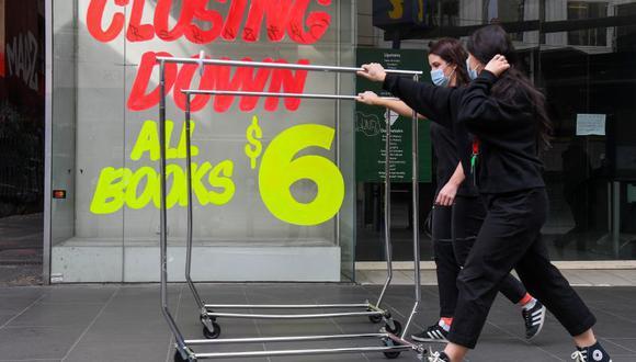 Coronavirus en Australia, Melbourne | Ultimas noticias | Último minuto: reporte de infectados y muertos hoy, lunes 3 de agosto | Covid-19 | (Foto: William WEST / AFP).