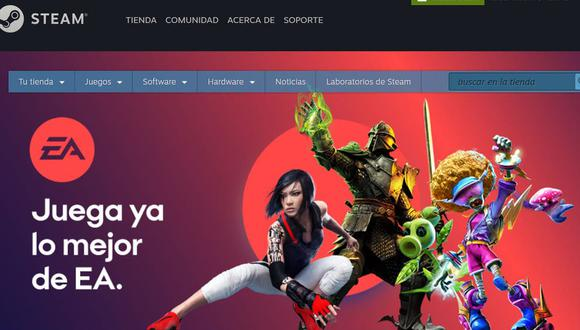 EA regresa a Steam con algunas de sus principales franquicias como Need for Speed o Plantas vs. Zombies. (Captura de pantalla)