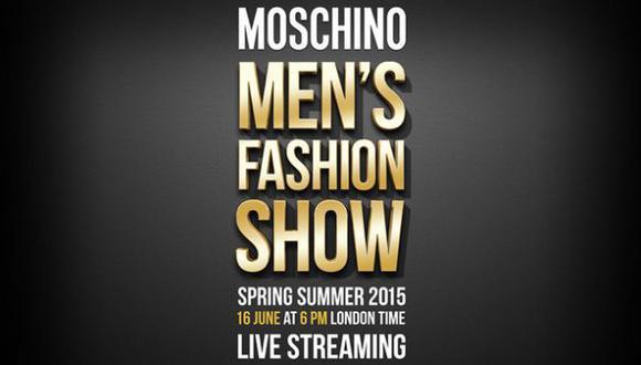 Man Fashion Week Londres: Mira en vivo el desfile de Moschino