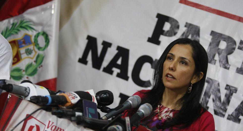 El Poder Judicial ordenó en enero impedimento de salida del país contra Nadine Heredia. (Foto: GEC)