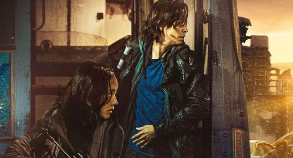 """""""Estación Zombie 2: Península"""" estrena póster oficial y revela detalles de su trama. (Foto: Captura)"""