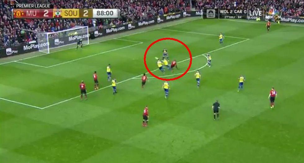 Manchester United: mira el golazo de Lukaku para el 3-2 que hizo estallar Old Trafford. (Foto: captura)