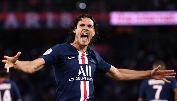 Cavani finaliza su contrato con el Paris Saint-Germain el 30 de junio. (Foto: AFP)