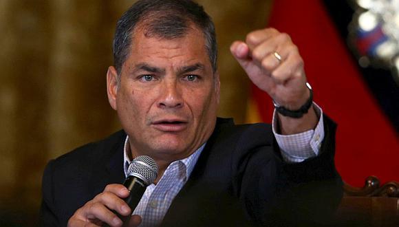 """Ecuador: Correa aplicaría """"muerte cruzada"""" si gana Lasso"""