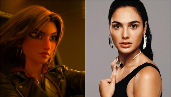 La actriz interpretará a Shank en la cinta animada. (Foto: Composición/Instagram)