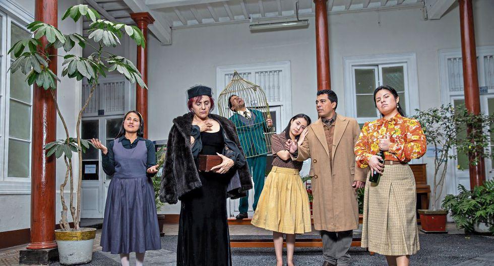 Parte del elenco: Melissa Colquicocha, Caridad Herrera, Édgard Arocena, Caroline Morales, Noé Valdiviezo y Sara Sedano. (Fuente: Difusión)