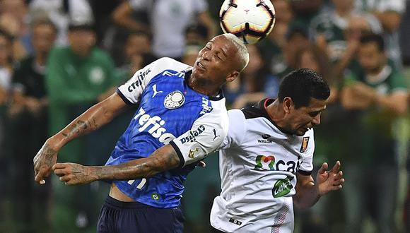 Melgar solo suma un punto en la Copa Libertadores 2019. | AFP