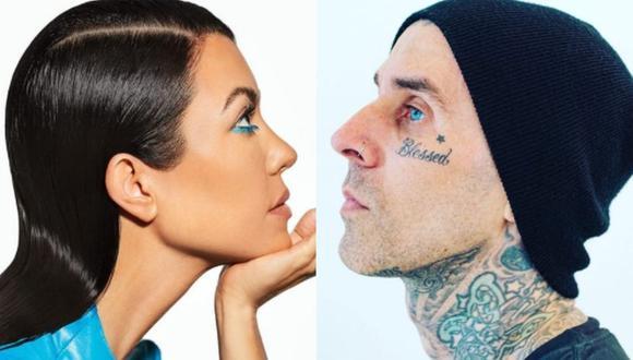 La estrella de televisión Kourtney Kardashian está feliz junto al baterista Travis Barker sin importar las indirectas de su ex Shanna Moakler. (Foto: Instagram)
