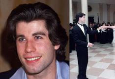 John Travolta y el día que acompañó a la princesa Diana en un baile que pasó a la historia