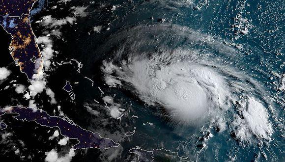 Este viernes se inicia la marea real, justo cuando el huracán que podría convertirse en categoría 4, se acerca a la Florida. (Foto: AFP PHOTO / NOAA/RAMMB/HANDOUT)