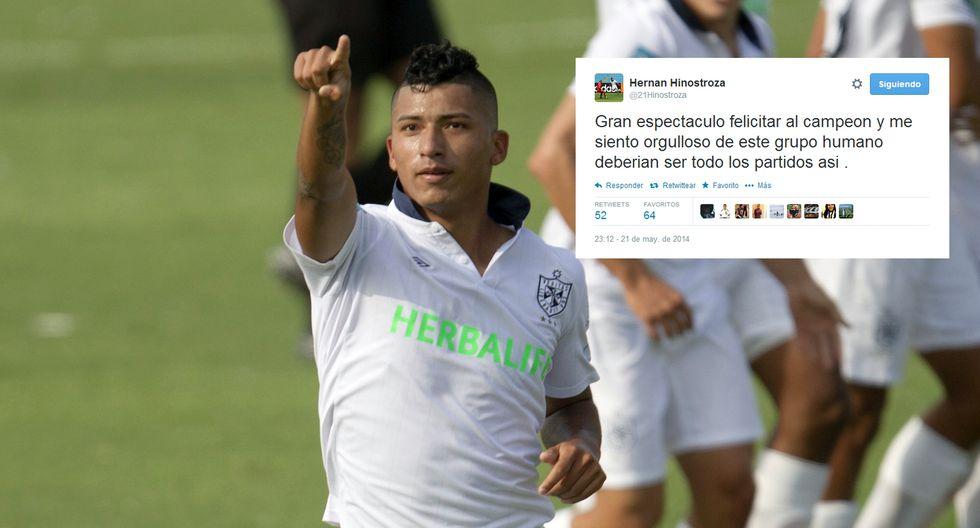 Claudio Pizarro y otros ex íntimos felicitan a Alianza en redes - 8