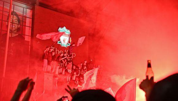 Liverpool salió campeón de la liga inglesa luego de 30 años. (Foto: AFP)