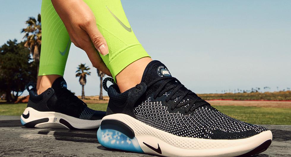Las zapatillas Nike Joyride están conformadas con 8 000 microesferas ubicadas en 4 bolsillos debajo del pie.
