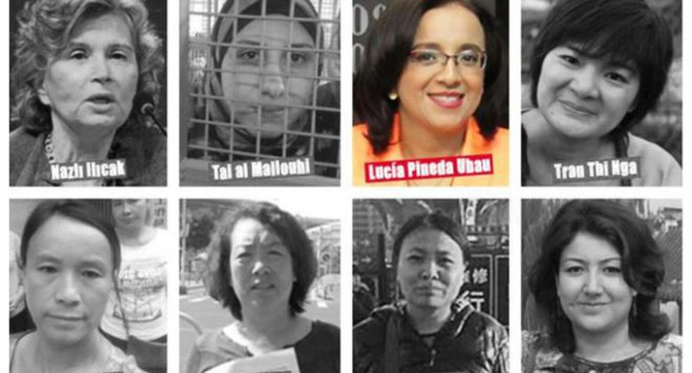 Según RSF, en el mundo hay actualmente 27 mujeres periodistas presas por ejercer su oficio. la única latinoamericana es la nicaragüense Lucía Pineda Ubau.