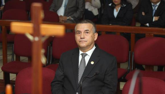El congresista Daniel Urresti ha aseverado que afrontará el nuevo juicio oral por el Caso Hugo Bustíos como un ciudadano cualquiera. (Foto: Poder Judicial)