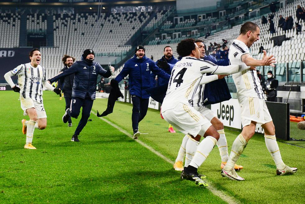 Juventus venció a Torino por la Serie A