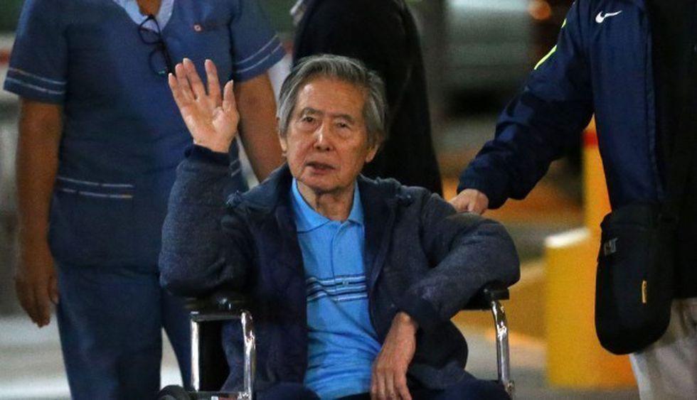 El expresidente regresó al penal de Barbadillo luego que el Poder Judicial anulara el indulto humanitario a su favor. (Foto: AFP)