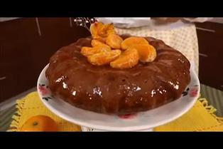 "Tres minutos de dulzura: aprenda a preparar ""Torta Húmeda de Mandarina"""