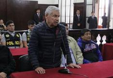 Procuraduría pide que César Villanueva pague S/300 mil de reparación civil en forma conjunta