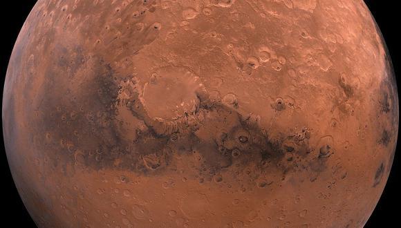 Marte es el siguiente objetivo, luego de la Luna, para la exploración humana. (NASA)