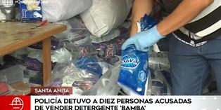 Santa Anita: intervienen local que distribuía detergente adulterado