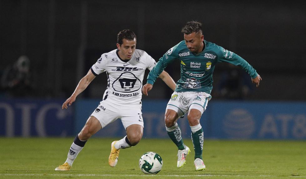 Pumas y León se enfrentaron en la primera final del Apertura 2020 de la Liga MX | Foto: AP