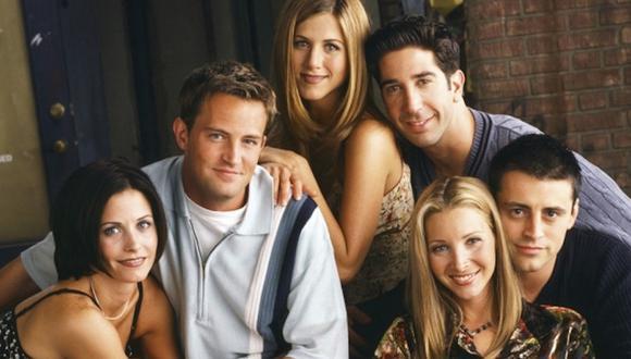 """En septiembre en este año, """"Friends"""" cumplió 25 años desde su primera emisión y, al rededor del mundo, se han realizado diversas actividades festejando su aniversario. Foto: AP"""
