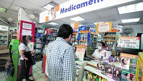 Compra masiva de usuarios generó escasez de medicamentos, según el gerente de Farmacias Unidas. (Foto: GEC)