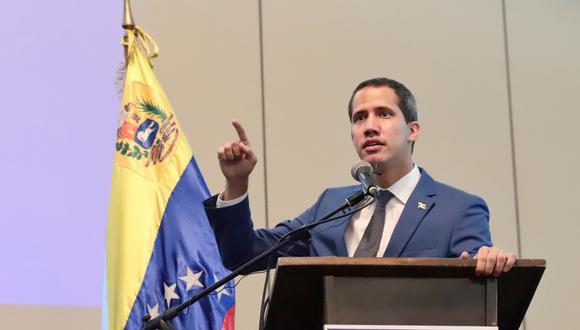 """Guaidó dice que """"no está planteada"""" nueva cita con régimen de Maduro en Noruega. Foto: AFP"""