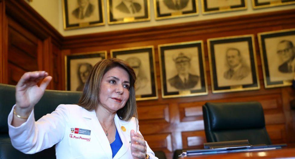 La ministra de Salud, Elizabeth Hinostroza, explicó que el cannabis medicinal será recetado de acuerdo al criterio de cada especialista en casos de pacientes que no respondan a terapias más convencionales (Foto: Gian Carlo Ávila).