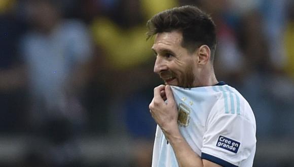 La posición del presidente de Conmebol después de las declaraciones de Lionel Messi tras la Copa América 2019. (Foto: AFP)
