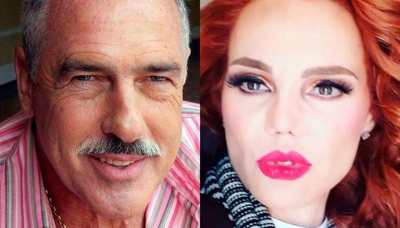 El actor se animó a hablar de su romance con la modelo, de quien dguarda los mejores recuerdos (Foto: Andrés García / Carmen Campuzano / Instagram)