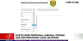 Coronavirus en Perú: Conozca cómo y quiénes pueden solicitar el nuevo pase personal laboral