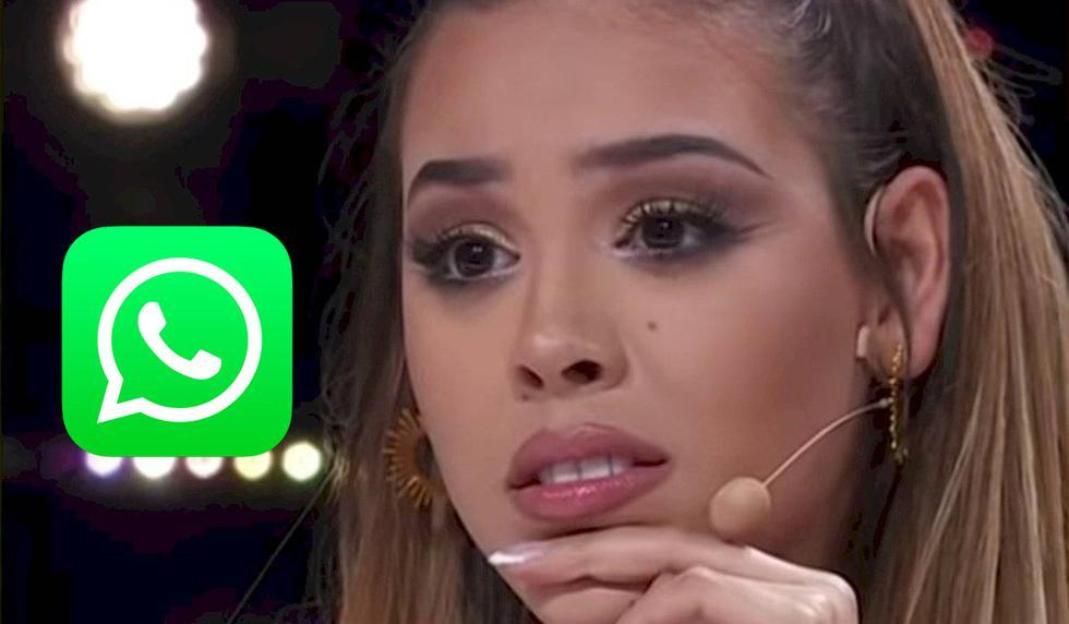 Usuarios crean stickers de Danna Paola para WhatsApp y aquí puedes descargarlos. (Foto: TV Azteca)