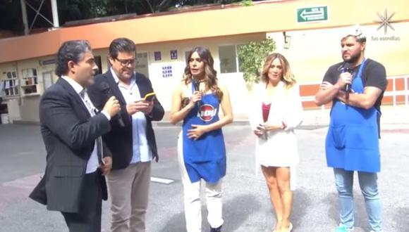 Minutos después del movimiento telúrico, Galilea Montijo, Andrea Legarreta y Raúl Araiza compartieron la angustia que sintieron.  (Foto: captura de video)