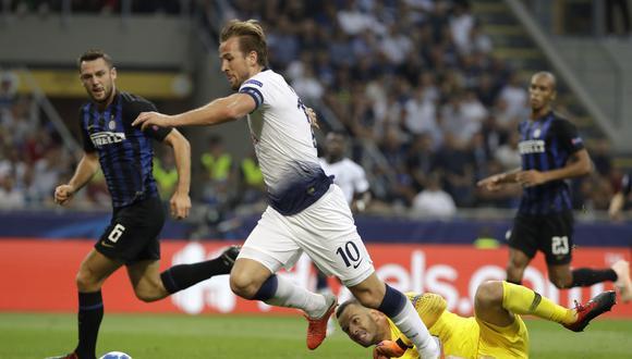 Inter de Milán vs. Tottenham: Harry Kane perdió increíble ocasión de gol. (Foto: AP)
