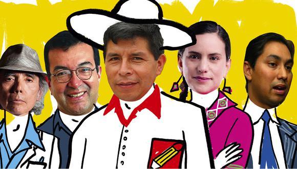 Tras la reunión de Castillo con Verónika el 5 de mayo, han conversado sobre el diseño de un plan que reemplace al ya obsoleto que Perú Libre inscribió en el JNE antes de la pandemia. (Imagen: GEC)