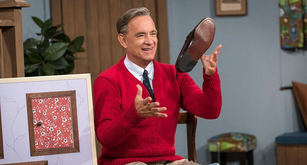 """""""A Beautiful Day in the Neighborhood"""", protagonizada por Matthew Rhys, Tom Hanks y Chris Cooper, narra la historia de un famoso conocido presentador de la televisión norteamericana Fred Rogers."""