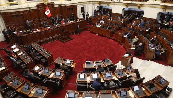El pleno del Congreso aprobó recibir al ministro de Justicia, Vicente Zeballos. (Foto: Rolly Reyna / GEC)