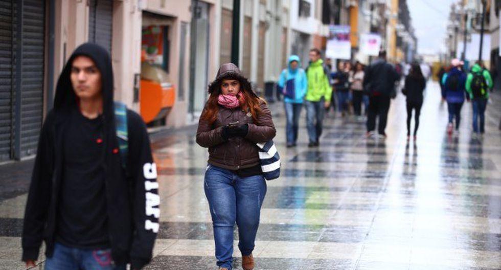 En Lima Oeste la temperatura mínima llegaría a 16°C, mientras que la máxima sería de 19°C.(Foto: GEC)