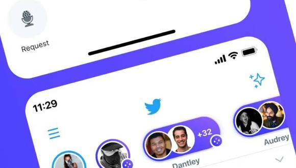 De esta forma podrás crear salas de audio en Twitter para que converses con tus seguidores. (Foto: Twitter)