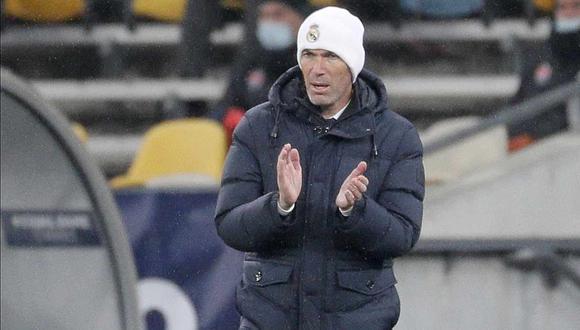 Zinedine Zidane habló sobre Atalanta, rival de Real Madrid en Champions League. (Foto: EFE)