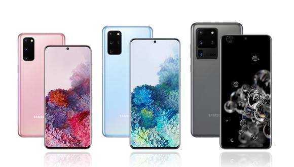 ¿Cuánto costará el Samsung Galaxy S20, S20 Plus y S20 Ultra en Perú? Conoce el precio oficial. (Foto: Samsung)