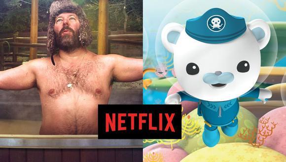 """""""En la cabaña con Bert Kreischer"""" y """"Los Octonautas y la Gran Barrera de Coral"""" son los grandes estrenos del día en Netflix (Foto: Netflix)"""
