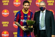 Con trofeo pero sin discurso: Messi no le habló a la hinchada del Barcelona tras ganar el Joan Gamper