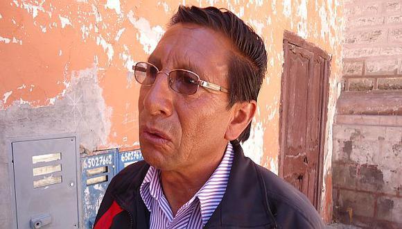 Mauro Gómez, candidato en  Vilcashuamán por el Apra, fue incluido en la lista de narcocandidatos que presentó el ministro Urresti, pero su caso se cerró en el 2002.