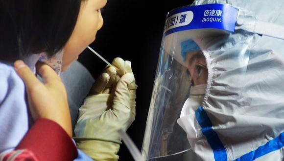 China realiza test masivos de COVID-19 en la ciudad de Kashgar, luego de que se detectaran un puñado de positivos, esta semana. (Foto: AFP).