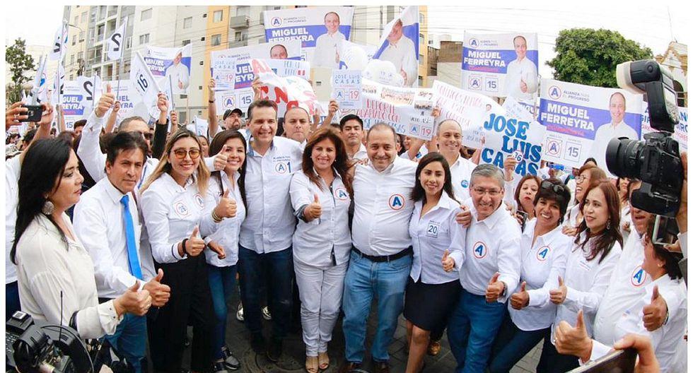 Alianza para el Progreso: JEE de Lima Centro admitió su lista de candidatos al Congreso 2020