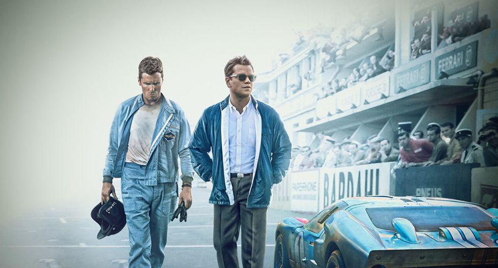 Christian Bale y Matt Damon. (Foto: Difusión)