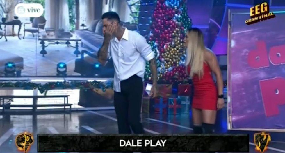 Angie Arizaga lanzó terrible cachetada a Jota Benz. (Imagen: América TV)